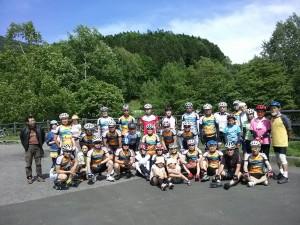 鹿の子ダム往復サイクリング